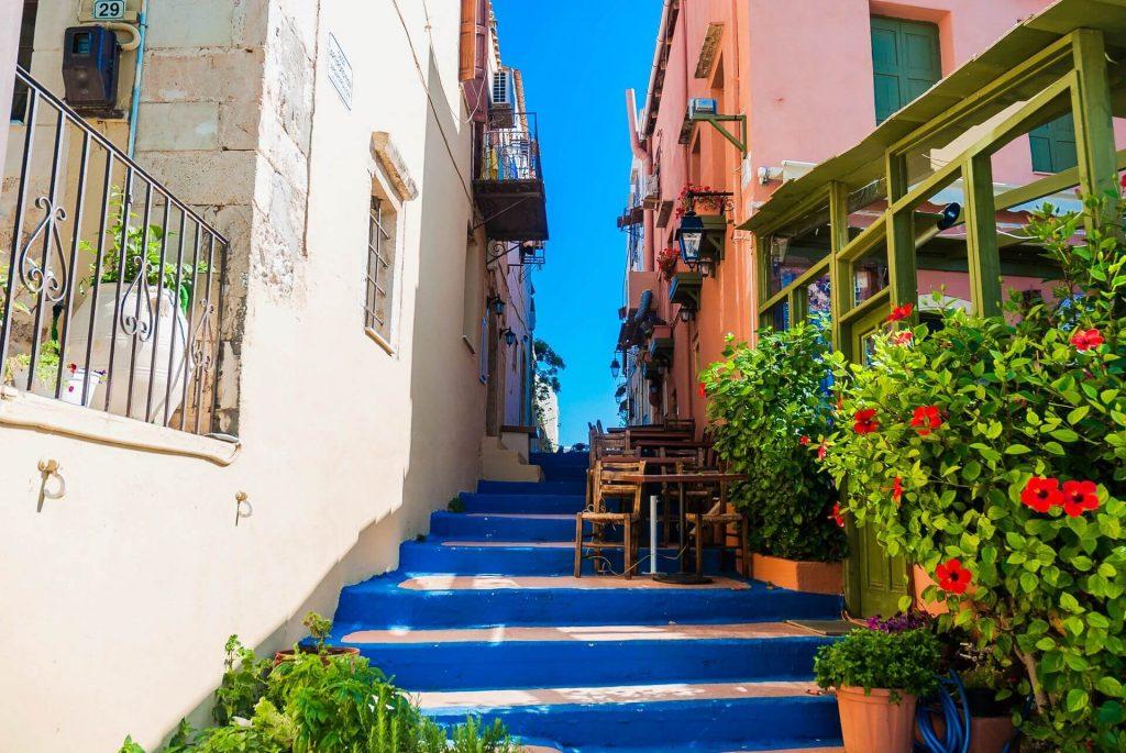crete-réthymnon-couleurs-façade-chaleur-chaude-grèce-vacances